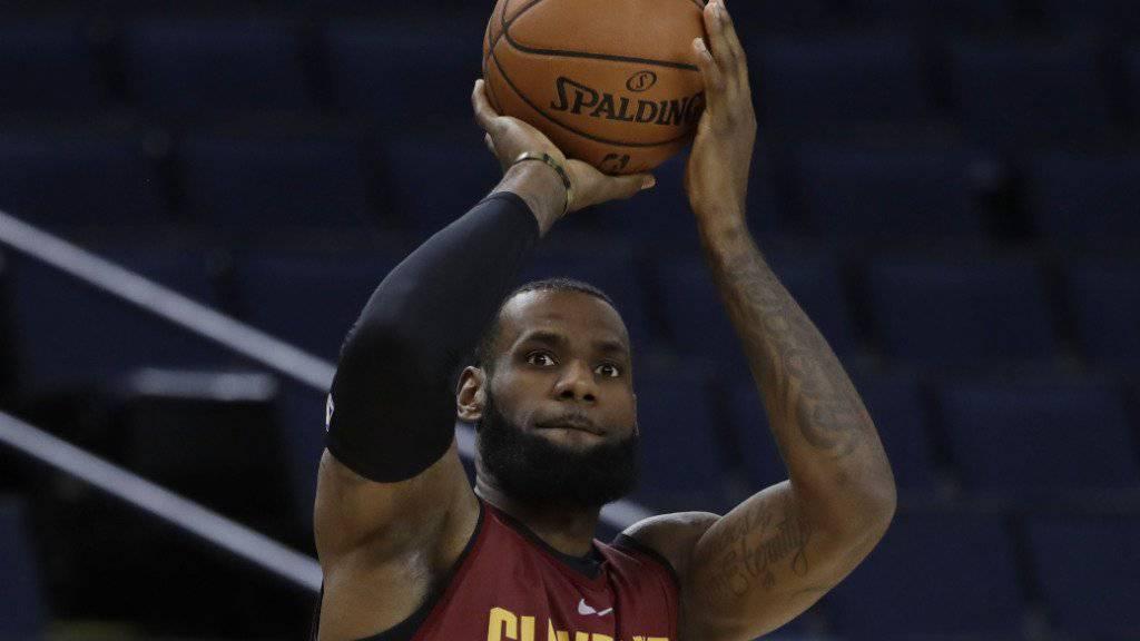Die Cleveland Cavaliers brauchen einen LeBron James in Topform