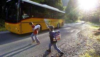 Der Postauto-Zusatzkurs kommt vor allem den Primarschülern zugute.