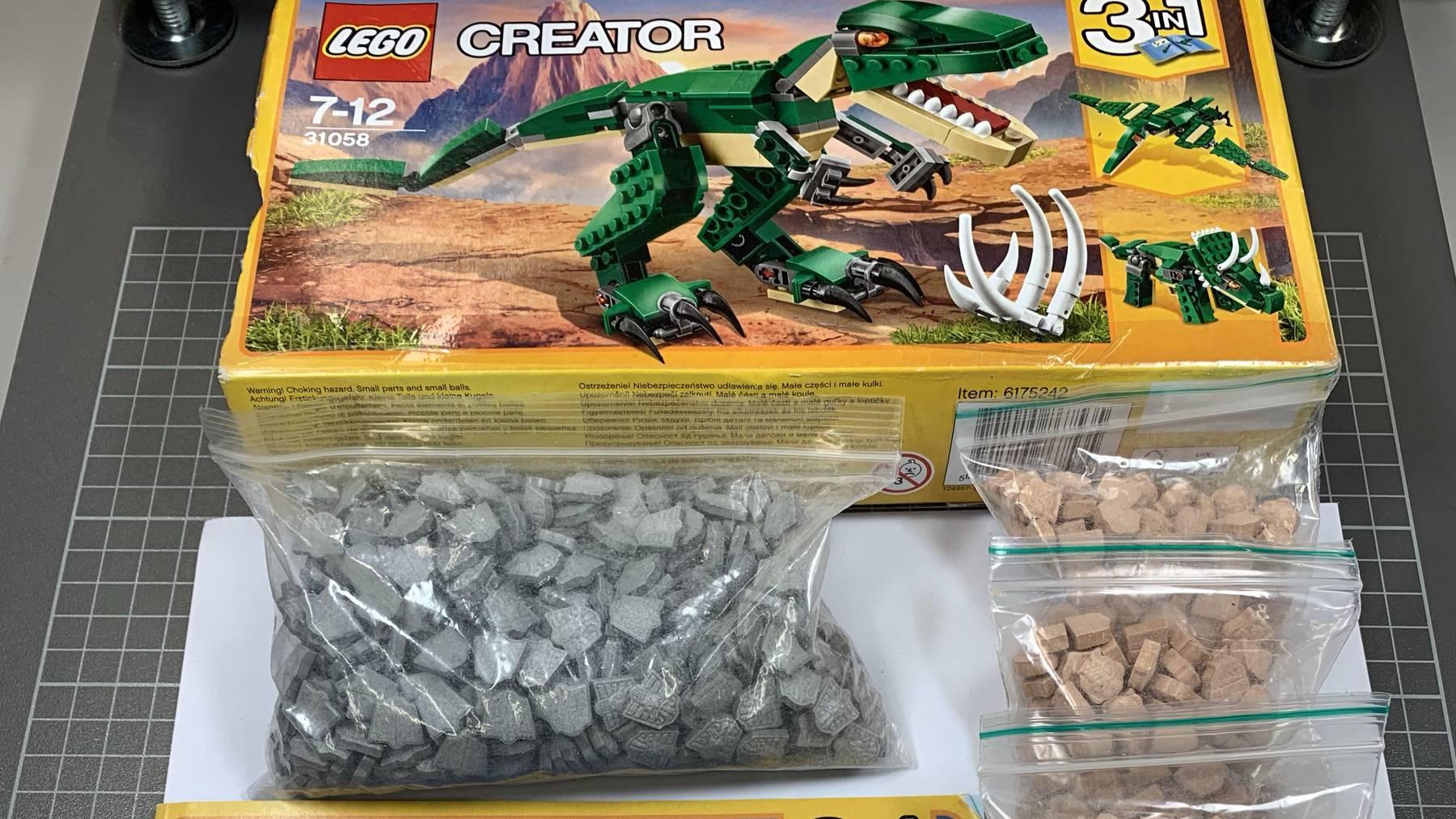 Ecstasy in Legopackung