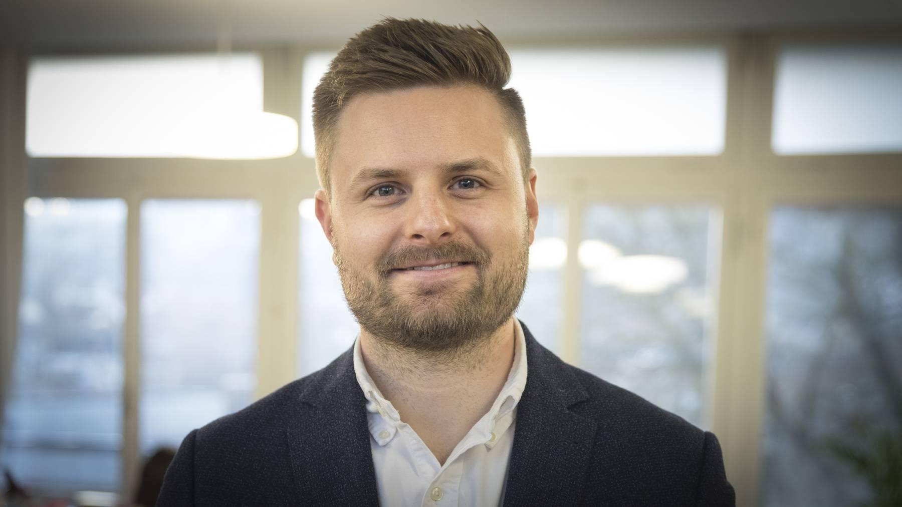 Ralf Schäpper ist seit letztem Sommer Schulleiter des Schulhauses Feldli-Schoren.