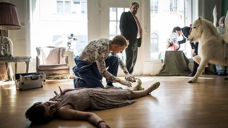 Eine der Mord-Serien: «Der Bestatter».
