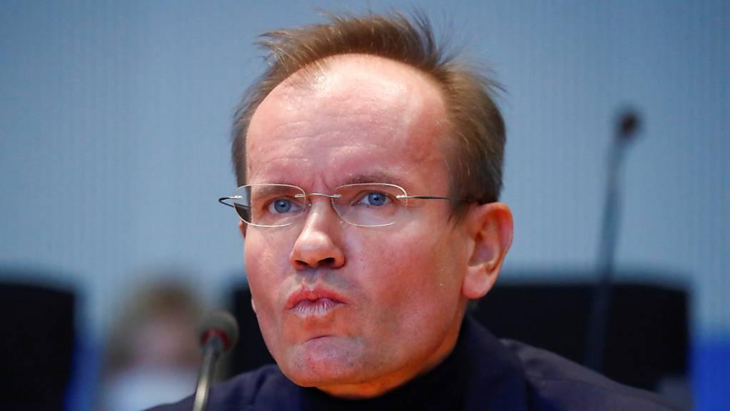 Die deutschen Behörden fahnden nach dem Vermögen des ehemaligen Konzernchefs von Wirecard, Markus Braun. (Archivbild)