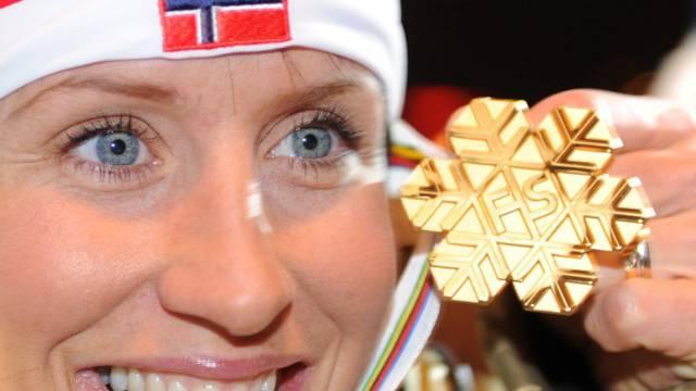 Viertes WM-Gold für Marit Björgen am Holmenkollen
