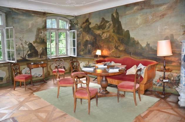 So lebten damals Abt und Mitbrüder des Klosters Muri in ihrer Sommerresidenz auf dem Horben.