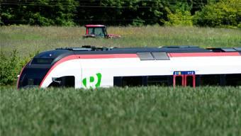 In der Stadt und auf dem Land derzeit ein grosses Thema: die S-Bahn.
