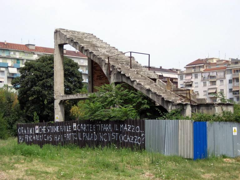 Vom einstigen Stadion «Filadelfia» blieb nicht mehr viel übrig. 1998 wurde es abgerissen. (Bild: Jalo/Wikipedia/CC BY-SA 3.0)