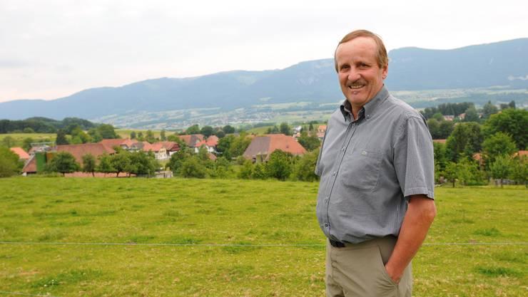 Herbert Schluep, Gemeindepräsident von Lüsslingen-Nennigkofen