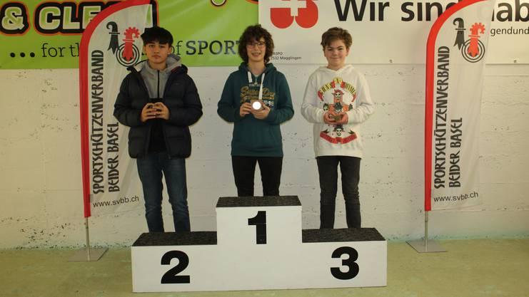 Von Links: Hügli Julinho, Degen Michelle und Kohler Thierry.