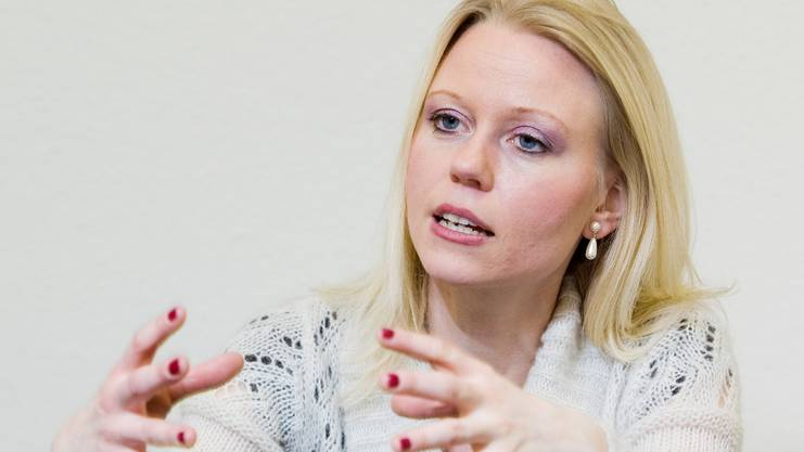 Lilian Studer, Fraktionschefin EVP