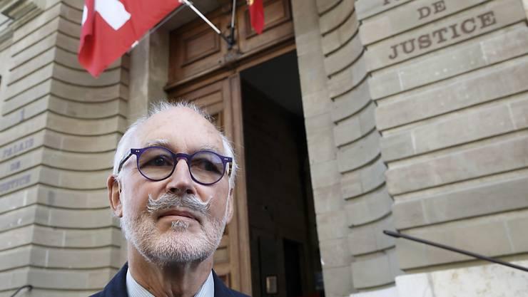 Der Vizepräsident von Exit Schweiz Romandie, Pierre Beck, ist am Donnerstag vom Genfer Polizeigericht zu einer bedingten Geldstrafe von 120 Tagessätzen verurteilt worden. (Archivbild)