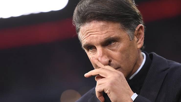 Bruno Labbadia wird seinen Vertrag als Trainer beim VfL Wolfsburg nicht verlängern