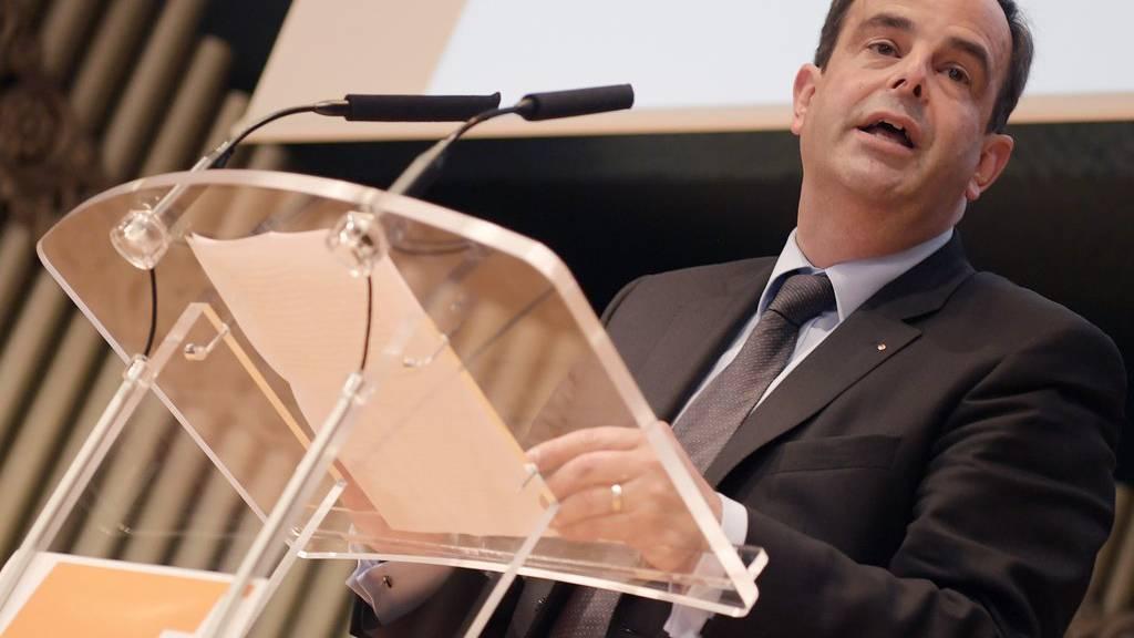 Gerhard Pfister wurde am Samstag zum neuen CVP-Parteipräsidenten gewählt.