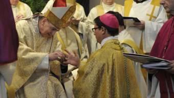 So ging die Bischofsweihe über die Bühne