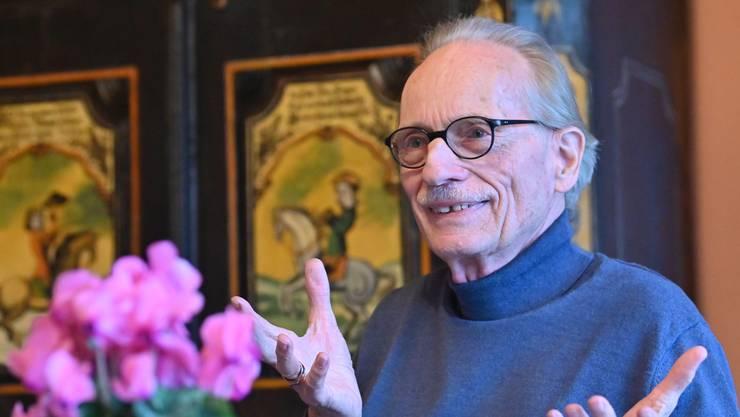 Wilhelm Kufferath von Kendenich: Der Vortragsredner, Schriftsteller und Künstler lebt seit 1974 in Trimbach