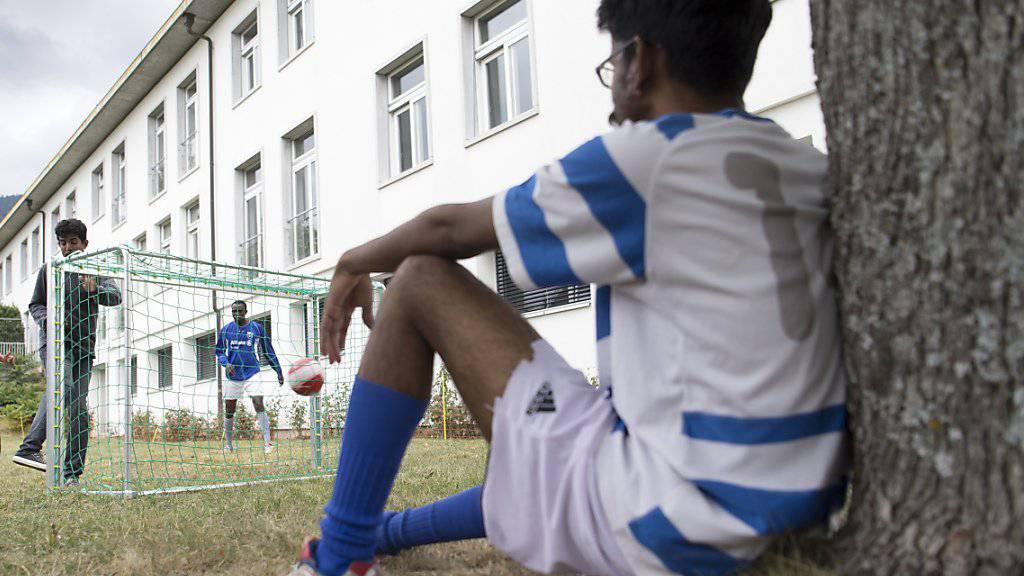 Zehn Prozent weniger Asylgesuche im ersten Halbjahr 2019