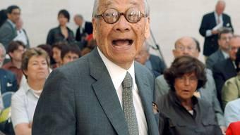 Der berühmte Architekt Ieoh Ming Pei ist mit über 100 Jahren verstorben. (Archivbild von 2006)