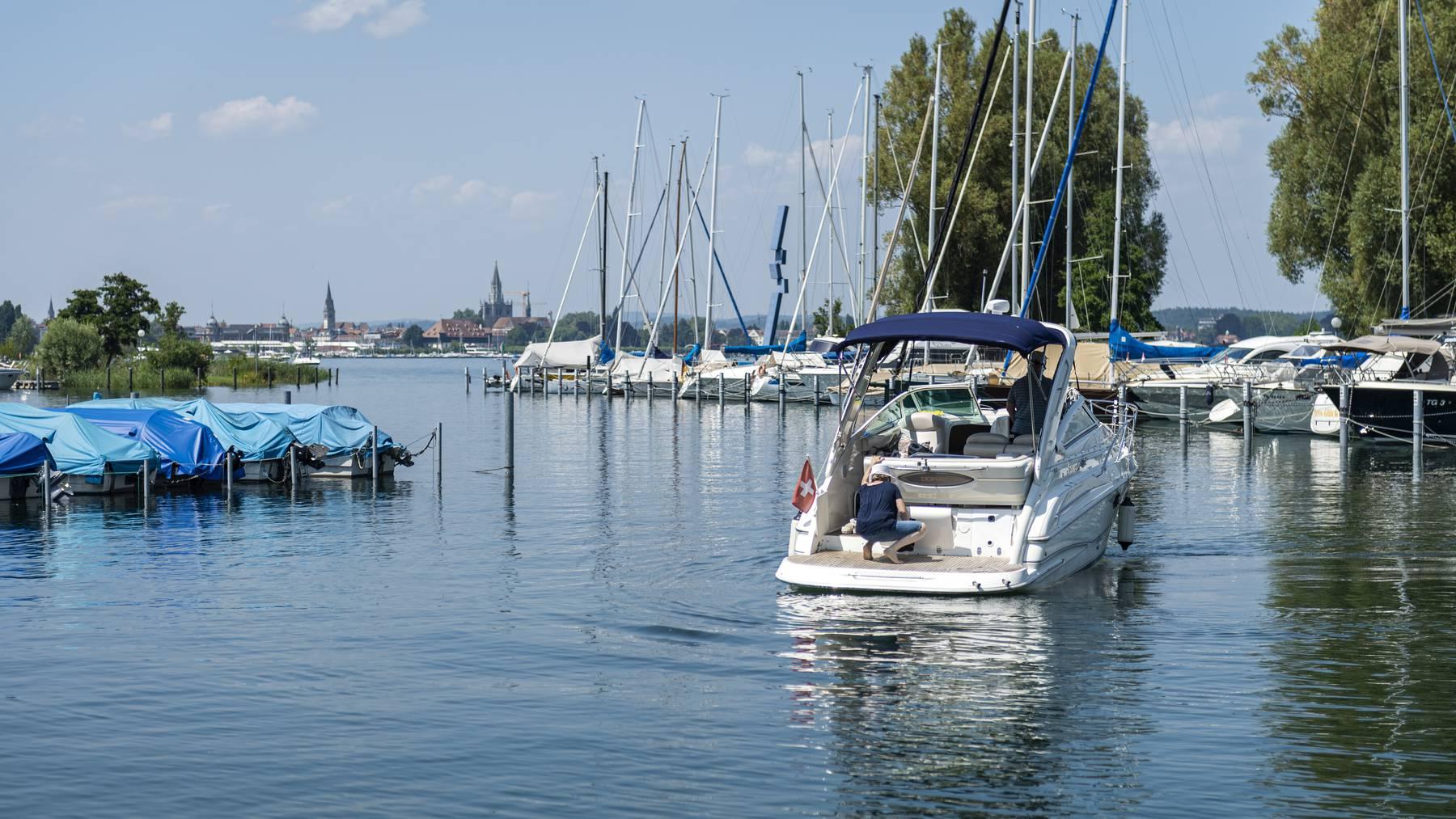 Das Wetter bleibt in den nächsten Tagen sonnig und warm – ideal um Zeit auf oder am Bodensee zu verbringen.
