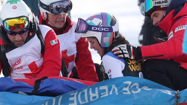 Aline Danioth verletzte sich erneut schwer