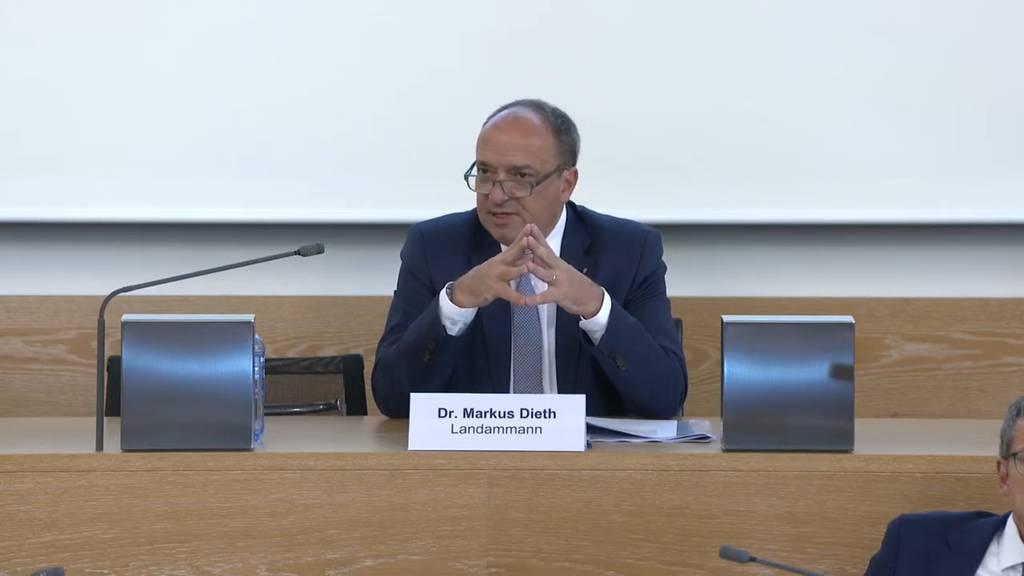 Komplette Pressekonferenz des Kantons Aargau vom 17. Juni 2020