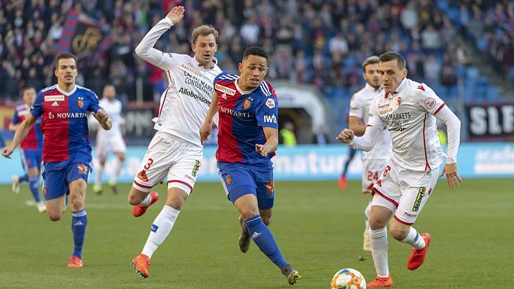 In rund einer Woche startet der FC Basel in die neue Super-League-Saison gegen den FC Sion.