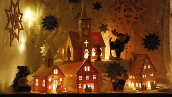 Eine Auswahl an Adventsfenstern im Kanton Solothurn