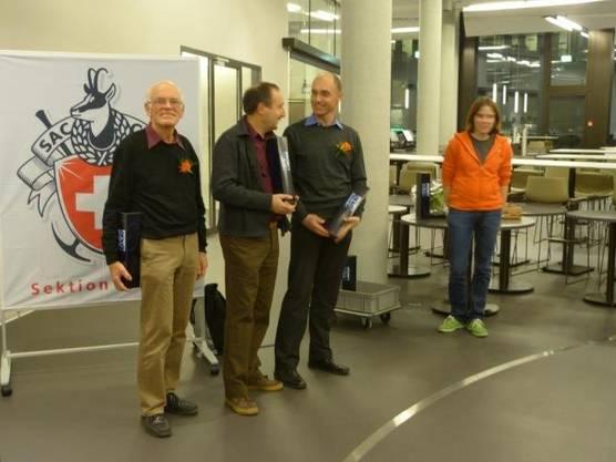 2 Hans Grimmer (50), Peter Rohr (30) und  Hannes Brunner (25), es fehlt Christian Braun (25).