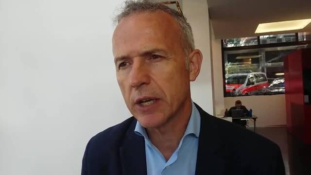 Bernhard Schmidt, Wortführer der Limmattalbahn-Gegner.
