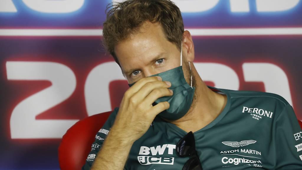 Pech gehabt: Sebastian Vettels 2. Platz in Ungarn zählt nicht