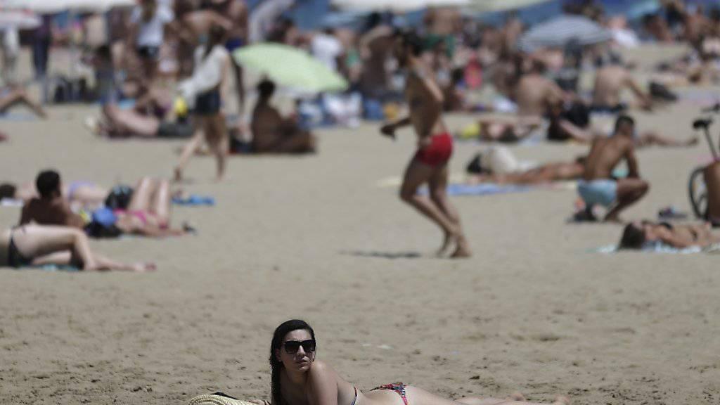 Spaniens Strände zählen weiterhin zu den beliebtesten Reisedestinationen.