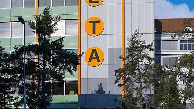 Hauptsitz des Uhrwerkherstellers ETA in Grenchen (Archiv)