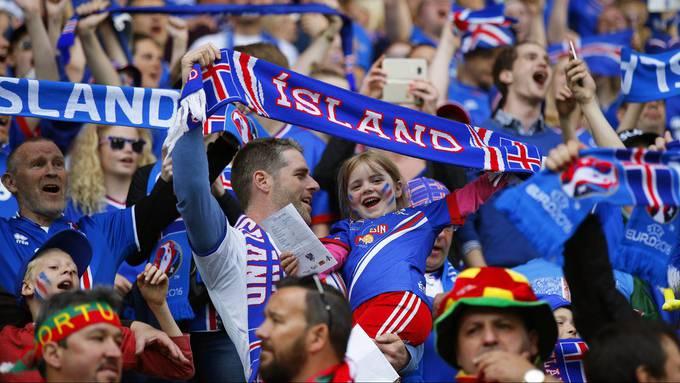 Gibt es in Zukunft noch mehr junge Fussballfans in Island?