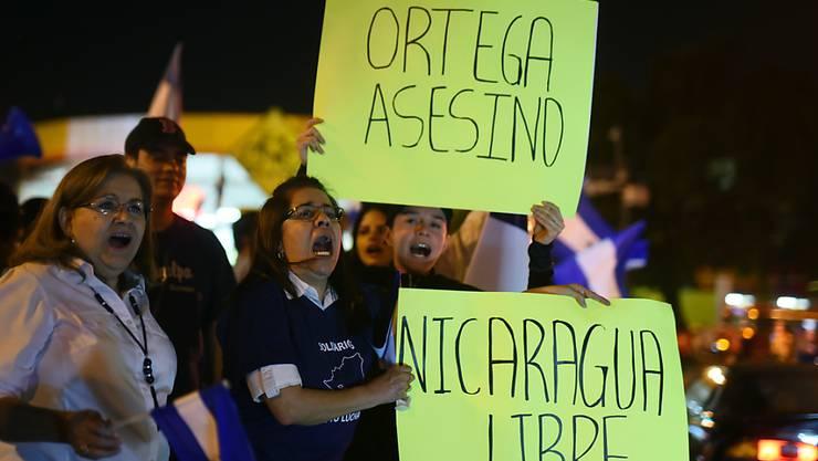Bei Auseinandersetzungen von Teilen der Bevölkerung gegen die Regierung in Nicaragua sollen bereits mehr als 300 Personen ums Leben gekommen sein. (Archivbild)