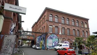 Die Rote Fabrik in Zürich-Wollishofen gewährt den Protestierenden Unterschlupf.