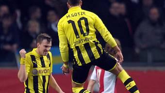 Überragende Leistung des Dortmunders Mario Götze gegen Ajax.