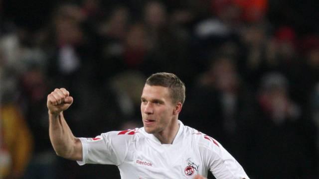 Lukas Podolski sicherte Köln gegen Mainz einen Punkt.