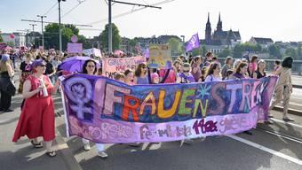 Hier gingen mehrere zehntausend auf die Strasse – schweizweit waren es 500'000 Teilnehmende.