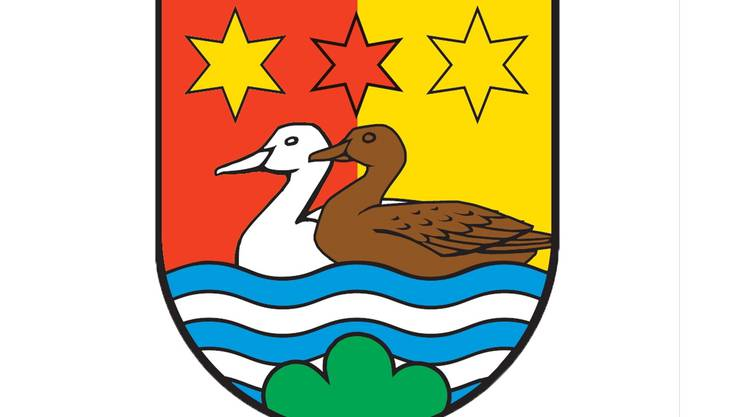 Im «Gleichschwumm» – so könnte das Wappen nach einer Fusion der beiden Entfelden, wie sie Oberentfelden vorzöge, aussehen.