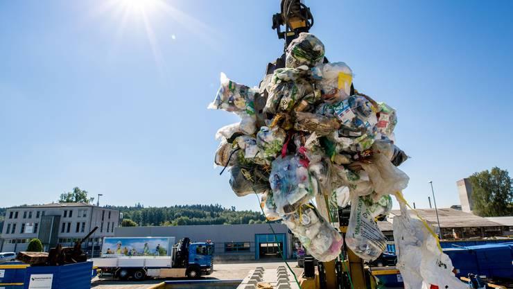 Plastikmüll ist das Sorgenkind des Recycling.