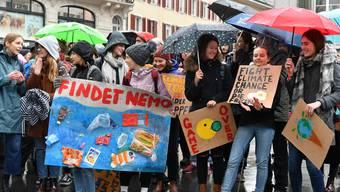 3. Klimademo in Olten, 29. November
