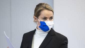 Natalie Rickli, Gesundheitsdirektorin des Kantons Zürich.