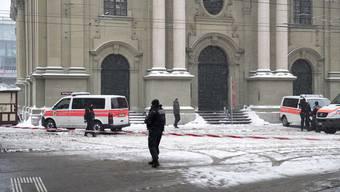Bombendrohung in Bern (2.3.2018)
