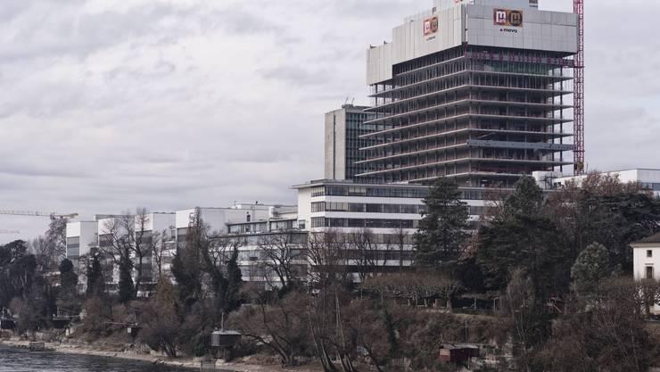 Bauwirtschaft und Pharma: Zwei Zugpferde in der Region (Foto: Roche-Turm).