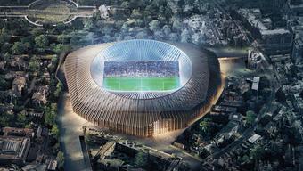 Mittem im Londoner Stadtteil Chelsea soll der Neubau von Herzog & de Meuron erbaut werden.