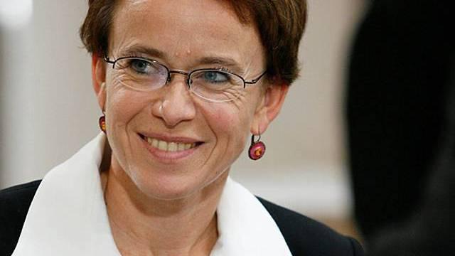Die Basler SP-Finanzdirektorin Eva Herzog will als Aussenseiterin ihre Chance packen.