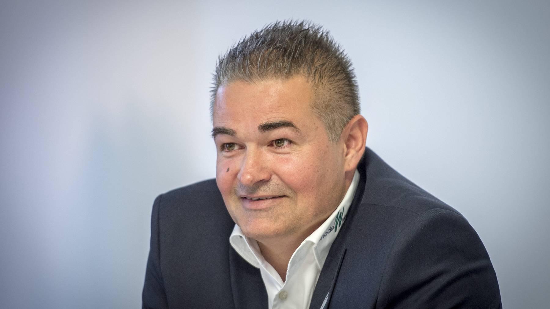 FCSG-Sportchef Christian Stübi ist zufrieden mit dem momentanen Kader der Espen.