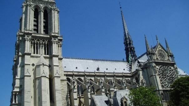 Brand der Notre-Dame in Paris