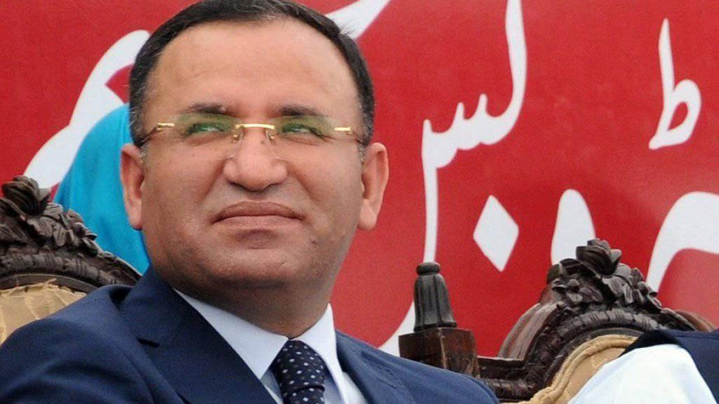 Der türkische Justizminister Bekir Bozdag darf in Gaggenau nicht auftreten. (Archivbild)