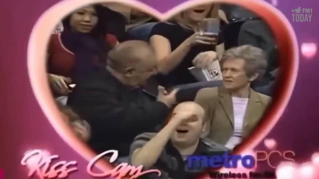 Schau dir die besten «Kiss Cam»-Momente an