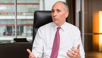 Fühlt sich mit seiner Familie in Basel heimisch: Novartis-Chef Joseph Jimenez.
