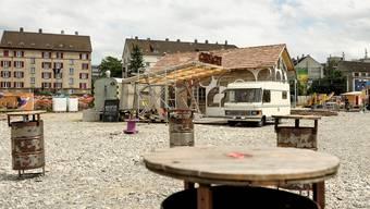 Das Lokal Chnächt auf dem Hafenareal wurde 2015 von der Anlaufstelle für Zwischennutzungen beraten.
